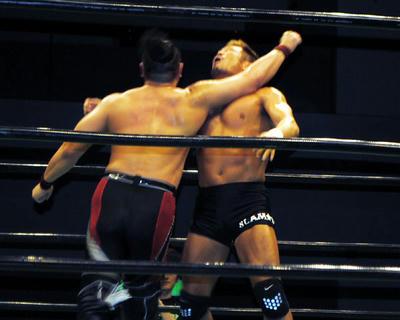ヨネ、池田vs杉浦 田中