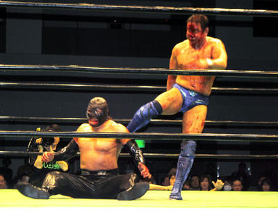 永田裕志vsマイバッハ谷口