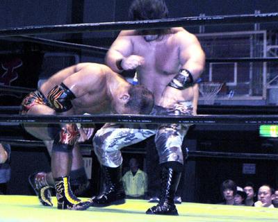 田中将斗vsクワイエット・ストーム