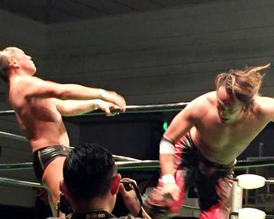 鈴木軍vsNOAH イリミネーションマッチ