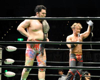 丸藤 矢野vsアーチャー スミス.Jr