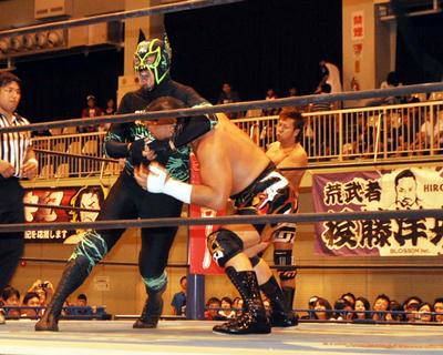 天山広吉 小島聡vsヨシタツ キャプテン・ニュージャパン