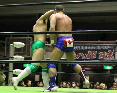 デイビーボーイ・スミスJr.vs清宮海斗