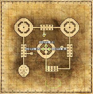 秘密の塔MAP。
