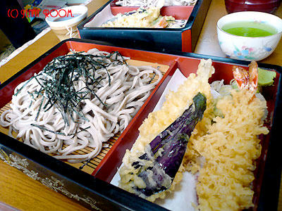 天ぷらソバ