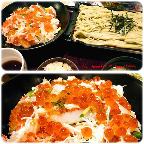 オホーツク丼・そばセット