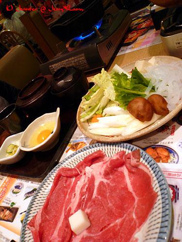 牛すきやき定食