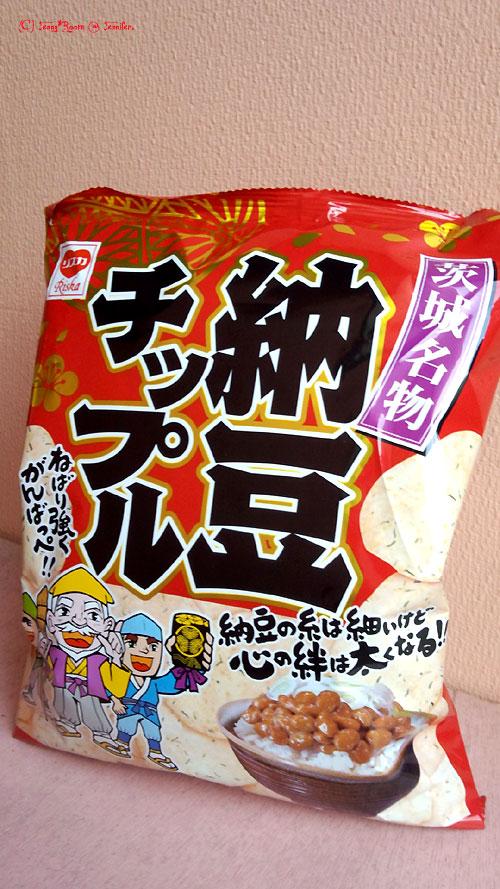 茨城名物 納豆チップル