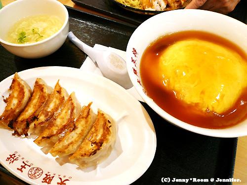 ふわとろ天津飯・餃子セット