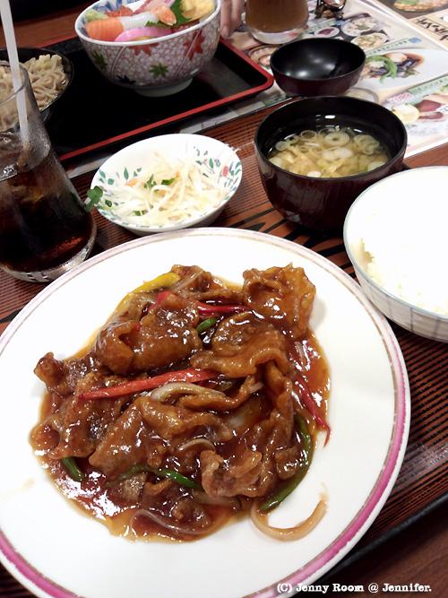 カリカリ酢豚定食