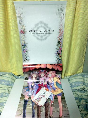 ガストカレンダー2012
