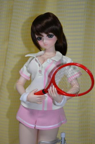 テニスウェアカスタム娘