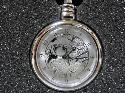 ショップ特典懐中時計