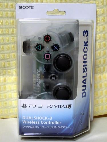 PS3コントローラ:数量限定クリスタルカラー