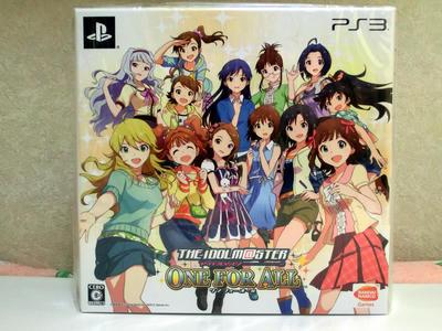 PS3アイマスワンフォーオール限定版