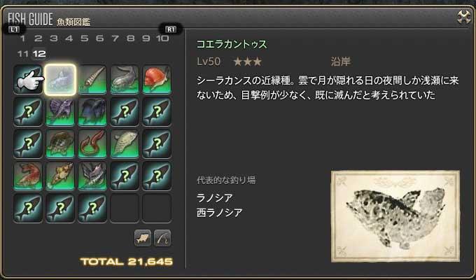 FF14で戯れる 【2.4ヌシ】コエラ...