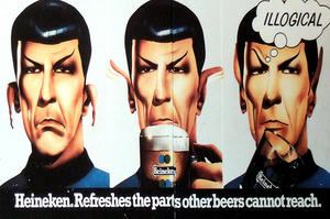 mr spock Heineken