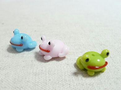 3色カエル