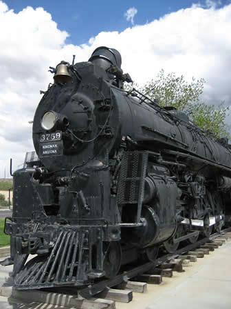キングマンのSLサンタフェ鉄道