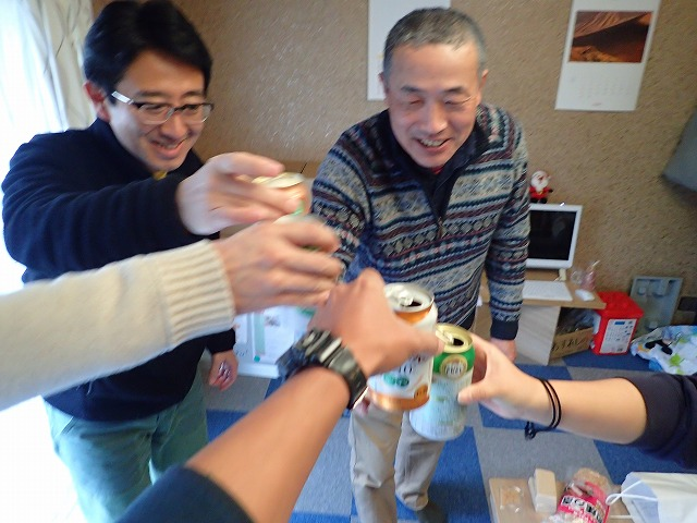 2015/12/13 大人のTIDEPOOL開催!