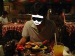 ロブスターと小さめステーキのセット