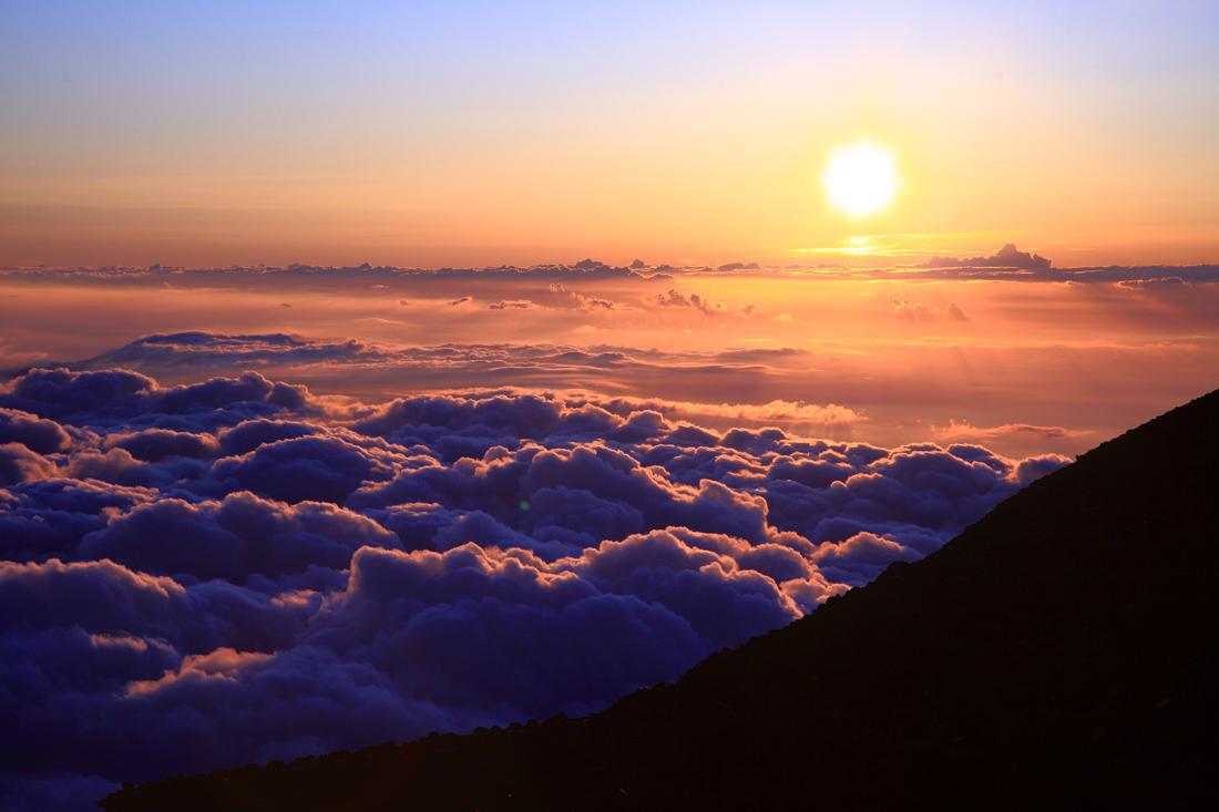 カレンダー カレンダー 2ヶ月表示 : 写真館 -密厳堂- 富士登山 ...