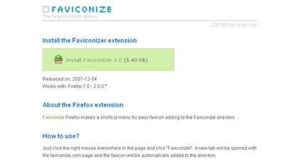 FaviconizeのFirefoxアドオン
