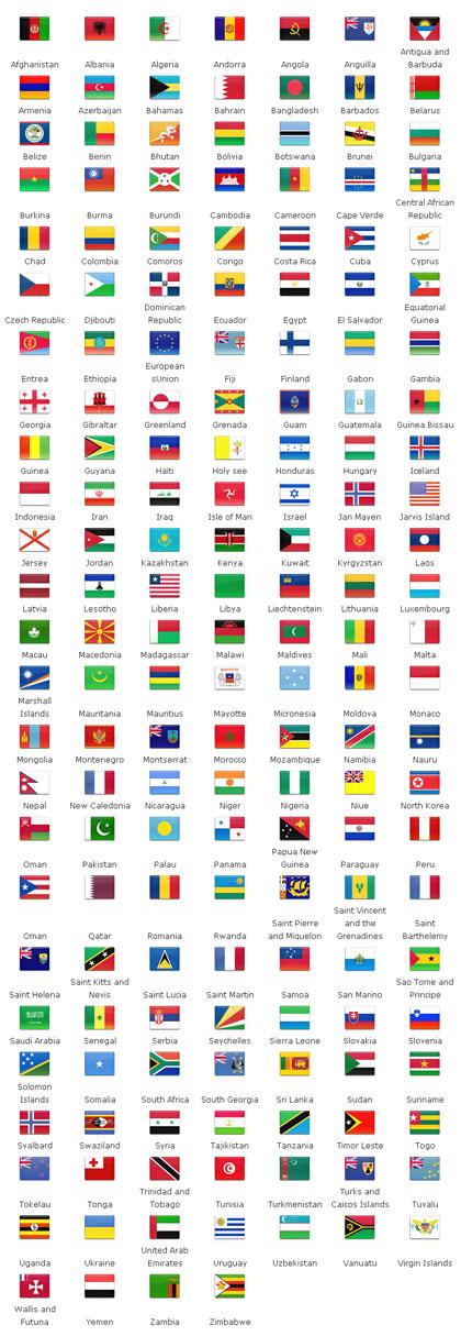 国旗ファビコン