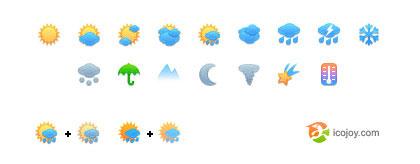 天気予報アイコン