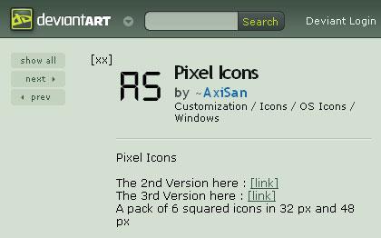ピクセル無料アイコン