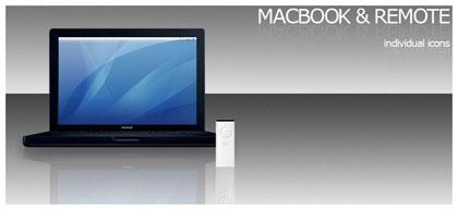 Macブックとリモコン