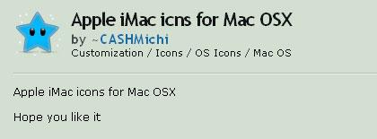 iMac アイコン