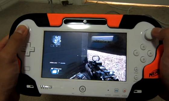 Wii U Black Ops 2 Zombies : Cod bo wiiu版 ゲームパッドのプレイ動画 直撮り w uu
