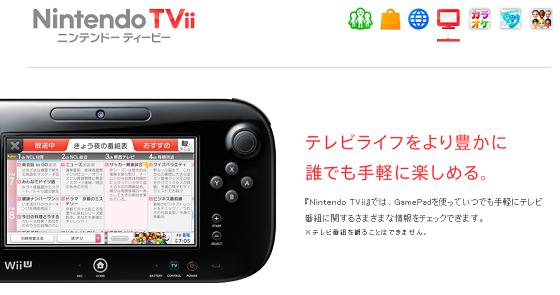 Nintendo TVii ニンテンドー ティービー