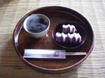 赤福とお茶のセット