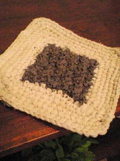 初裂き編み。