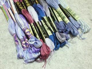 498番以外に買った糸。