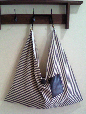 綿麻のあずまバッグ。