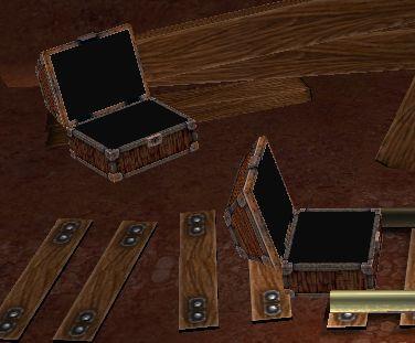 鍵の入った箱と金の入った箱