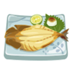 東雲巽 差し入れ 焼き魚