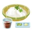 真山恭一郎 差し入れ 素麺