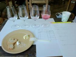 ワインとチーズ教室