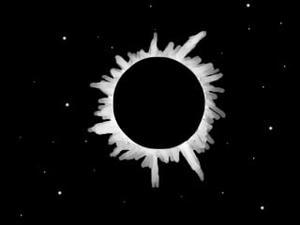 皆既日食?