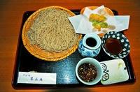 もりそば大盛+野菜の天ぷら