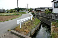 東側の堀跡