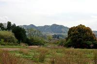 甘粕城方面から眺めた猪俣城