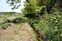 広木城付近の用水路
