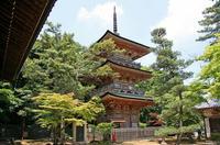 吉見観音の三重塔