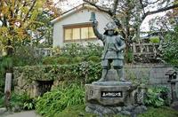 真田幸村銅像と抜け穴