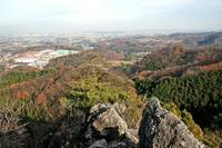 御嶽城東側物見台